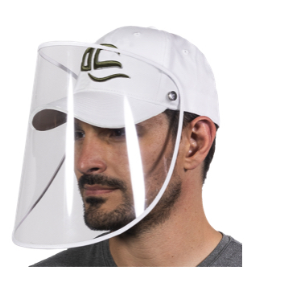 Face Shield and Cap Combo