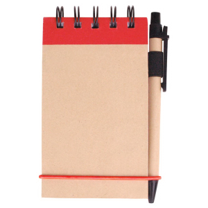 V Natural™ Kraft Jotter with Pen