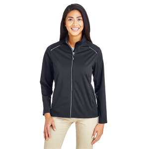 Core 365 Techno Lite Three-Layer Knit Tech-Shell - Ladies'