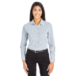 Devon & Jones CrownLux Performance™ Micro Windowpane Shirt - Ladies'