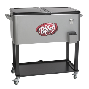 Rolling Vending Cart Cooler